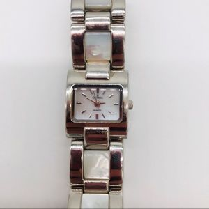 Croton Watch sterling Silver w/ Mother of Pearl